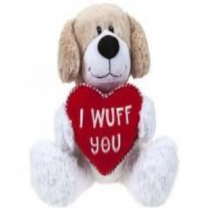 PUPPY CUDDLY TOY 25cm  445030